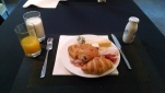 My breakfast at the hotel. I stopped going when I learned it was €11, more than a full dinner in Spain.