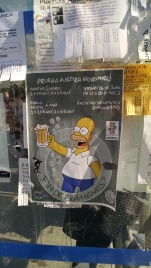 Not only is beer sold at a public education institution and advertised on posters, but Homer Simpson is known and loved across the globe.
