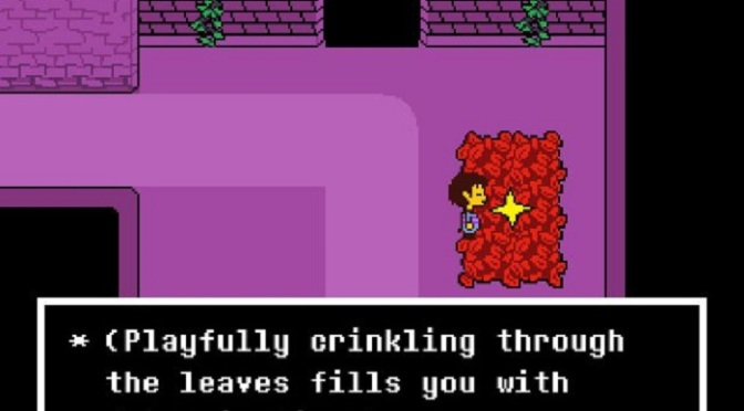 Undertale and Redefining the Adventure Fantasy