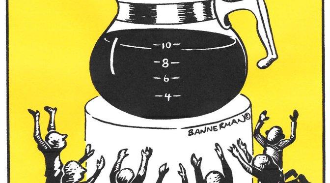 A crime against coffee