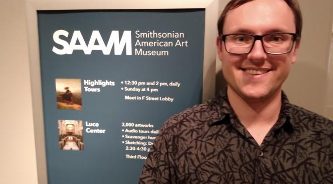 Sam at the SAAM